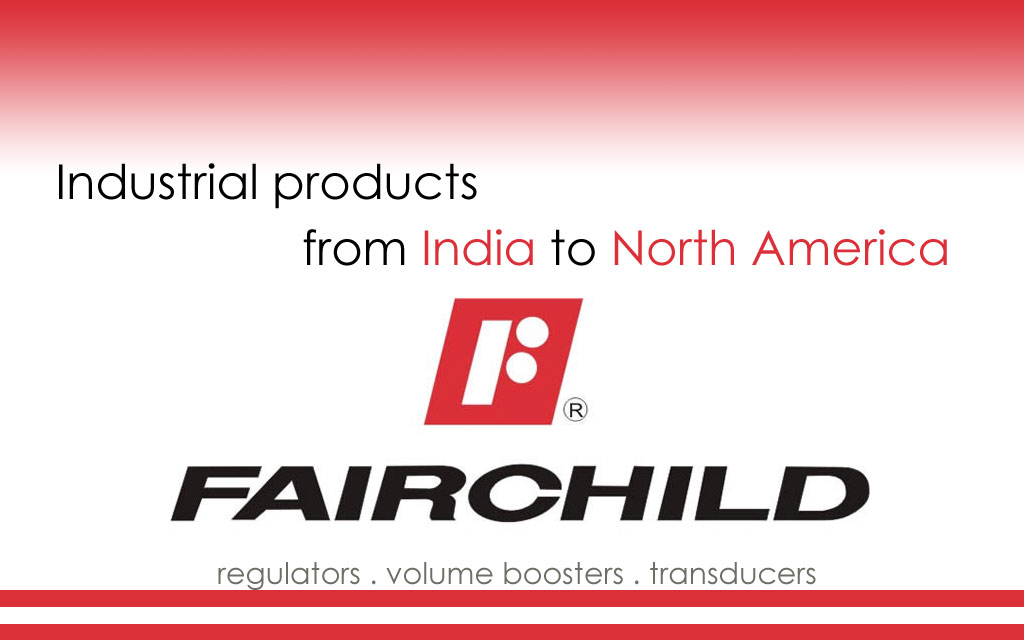 Quality industrial regulators, transducers, volume boosters, and relays from Fairchild Industrial Products