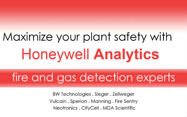 Honeywell gas detection equipment