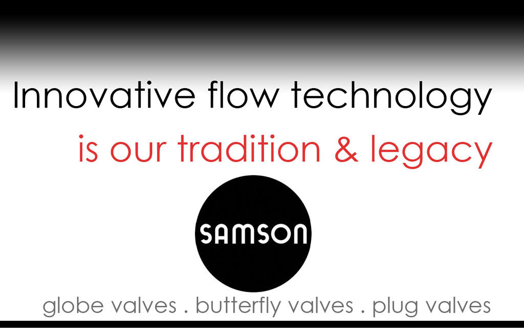 Valves, Control Systems, and Automation Products from Samson