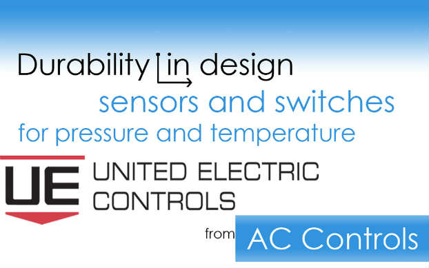 Temperature and Pressure Sensors and Switches from United Electric Controls