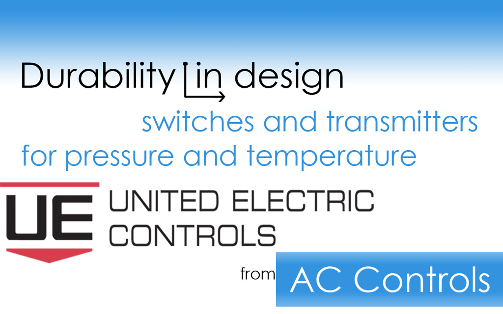 Temperature and Pressure Transmitters and Switches from United Electric Controls