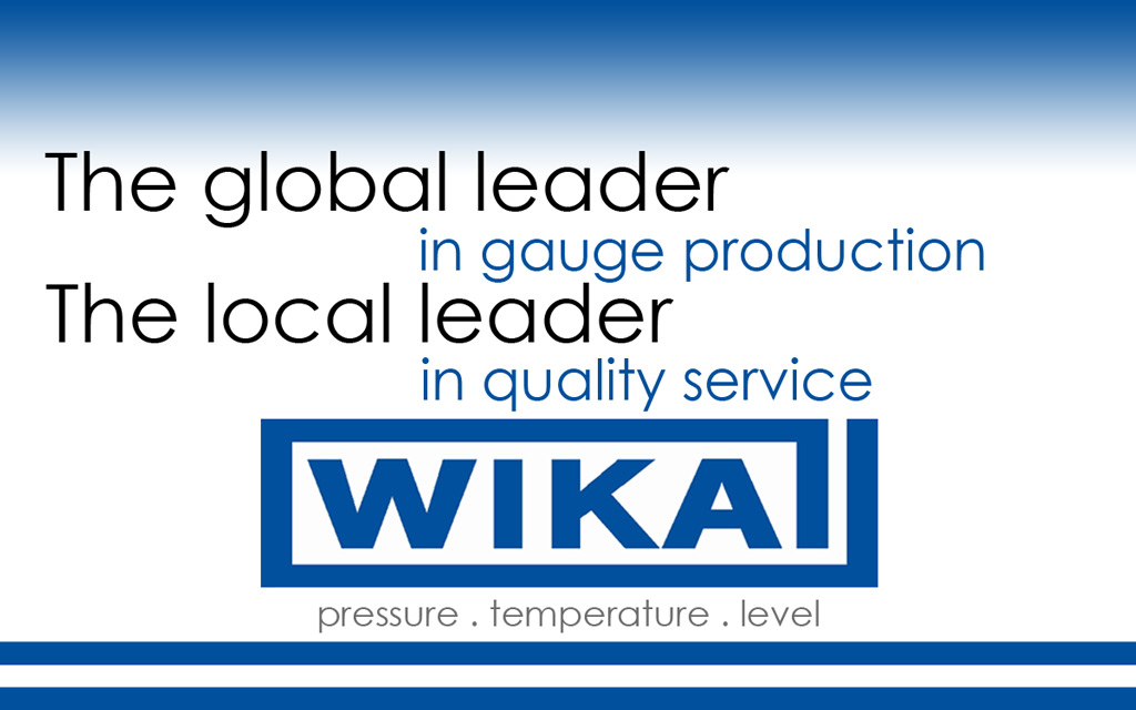 WIKA Gauges, Transmitters, and Measurement Products